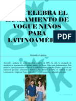 Alexandra Azpúrua - EPK Celebra El Lanzamiento de VOGUE Niños Para Latinoamérica