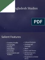Lecture 1, Bangladesh at a Glance