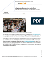 Has Demonetisation Really Boosted Income Tax Collections_ - Livemint