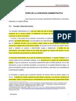 Unidad 12 Teoría de La Concesión Administrativa