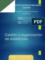 Gestion y Organizacion de Existencias