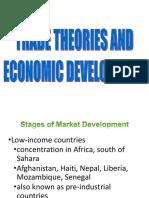 2. Trade Theories and Economic Development