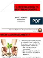 Lecture 1_Introduction to Investment Management