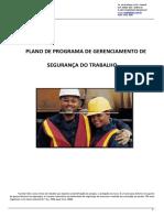 Apostila Plano de Programa de Gerenciamento de Segurança Do Trabalho