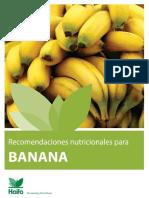 Manejo cultivo Banano