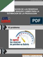 Actualizacion de Reservas Campo Camiri y Estimacion de la Produccion Futura