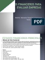 Estados Financieros Para Evaluar Empresas