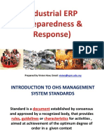 Industrial ERP (Prepare & Response)