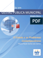 PNAP - Modulo Basico - GPM - O Estado e Os Problemas Contemporaneos