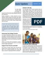 AMP Debate Digest Vol 1 - Sept 2010