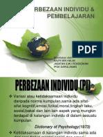 PERBEZAAN INDIVIDU & PEMBELAJARAN.pptx
