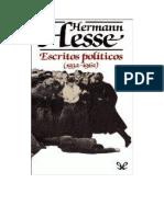 Hesse Hermann - Escritos Politicos 1932 1962