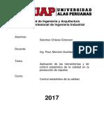Trabajo Control de Calidad Sanchez Chavez Emerson