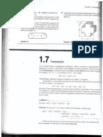 Factorizacion (Matematica)