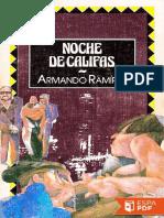 Noche de Califas - Armando Ramirez