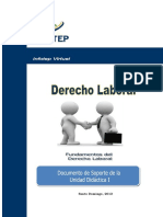 Derecho LaboralUNIDAD I (1)