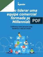 eBook Como Liderar Equipe Comercial Formada Por Millennials