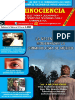 Número 3 Revista Criminociencia