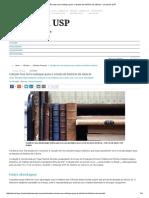 Jornal Da USP - Colecao Traz Novo Enfoque