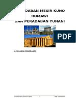 Makalah Sejarah Peradaban Romawi Dan Yunani 2