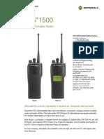 Et Radio Motorola Xts 1500