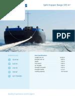 Baars Split Hopper Barge 335M3(1)