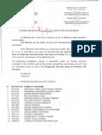 Admissibilites Eaux Et Forets 2017