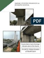 Puentes Ubicados en La Geografía Nacional