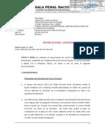 Resolución Sala Penal