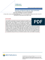 Tribochemistry Od Bismuth Salts for Solid Lubrication