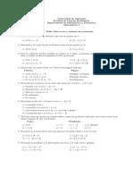 33Taller Linea Recta y Sistemas de Ecuaciones