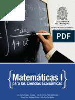 1matemáticas I Para Las Ciencias Económicas