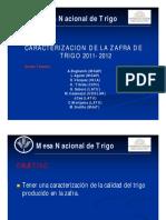 Caracterizacion Trigo Zafra 11-12