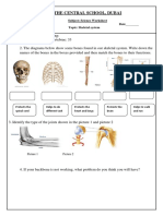 Skeletal System -Study Material