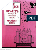 Marilyn Frye - Politics of Reality - Essays in Feminist Theory