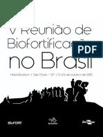 Anais congresso biofortificação Brasil