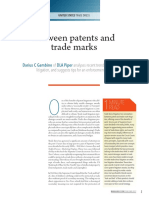Between Patents & Trademarks - Trade Dress