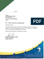 Carta Cancelacion Poliza