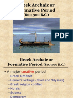 06 Greek Archaic or Formative Period