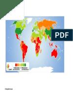 Deforestation Global Density Map