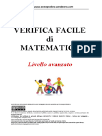 Verifica Matematica Primaria Livello Avanzato