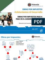 1 Obras Por Impuestos_MINDEF 25 Julio 2017