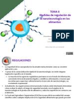 TEMA08-Medidas de Regulación de La Nanotecnología en Los Alimentos