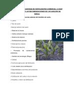 23. Cálculo de Cantidad de Fertilizantes Comercial a Usar Basándose en Las Recomendaciones de Los Análisis de Suelo