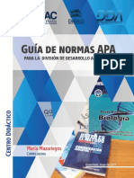 Guía de Normas APA Para La DDA Mayo Del 2017