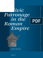 John Nicols, Civic Patronage in the Roman Empire
