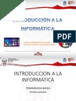 Introducción a La Informatico-Primera-semana