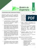 Be1 - Características Sobre Compressores Parafuso