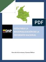 Guia de Regionalizacion 2011