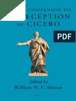 William H. F. Altman (Ed.), Brill's Companion to the Reception of Cicero